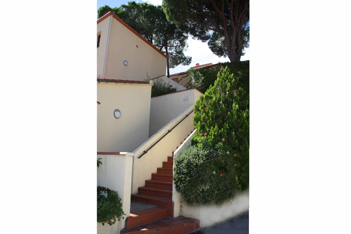la résidence des rocades à Collioure